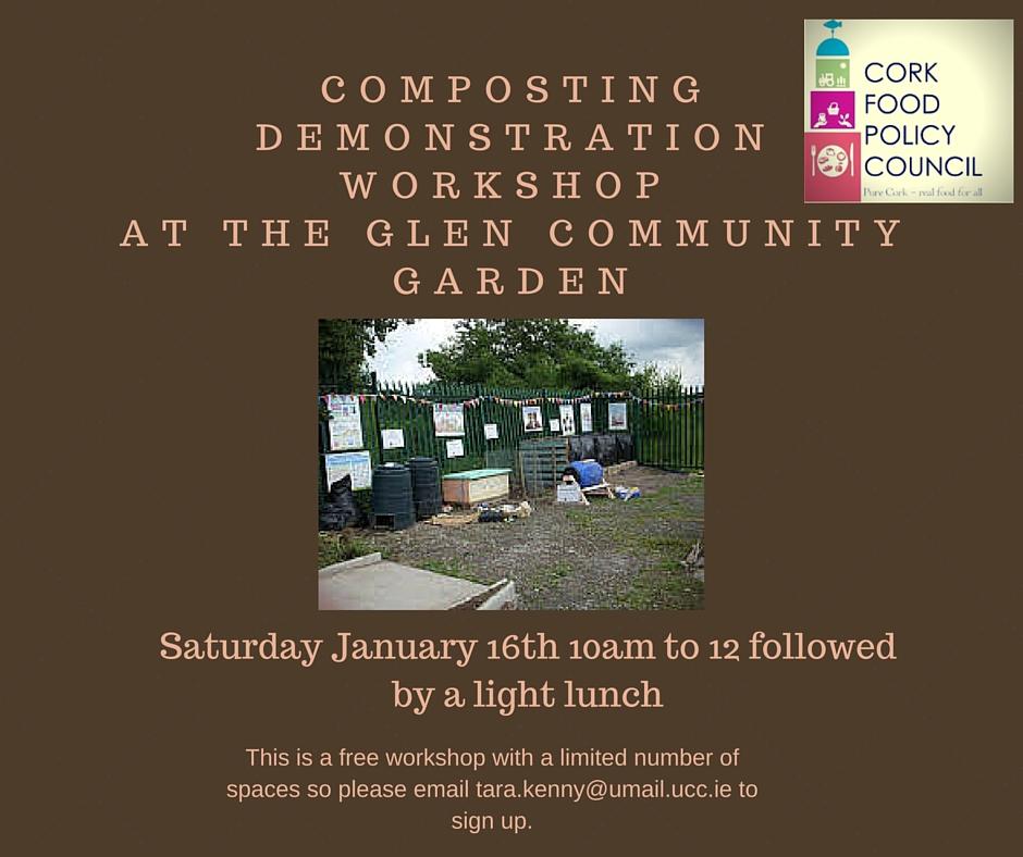 Composting Demonstration Workshop: Glen Community Garden