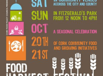 CFPC Cork Food Harvest Festival Flyer
